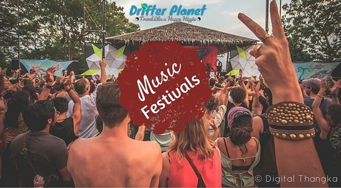 Music Festivals - Drifter Planet