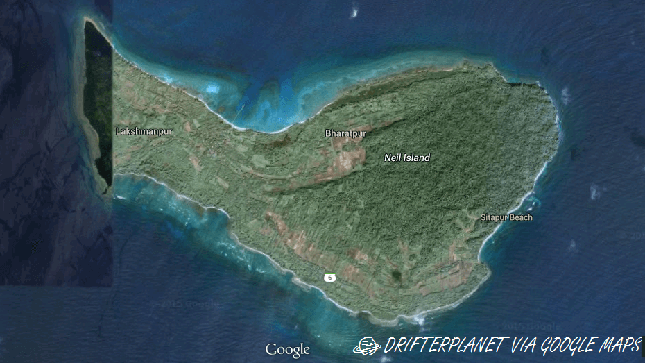 neil island map
