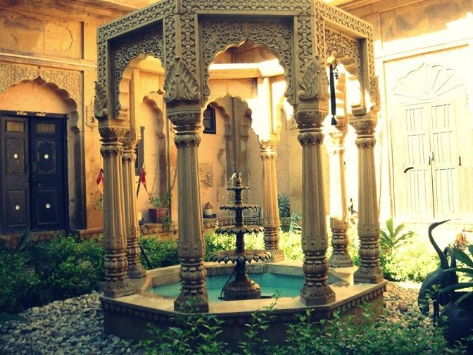 Beautiful Nachana Haveli, Jaisalmer, Rajasthan