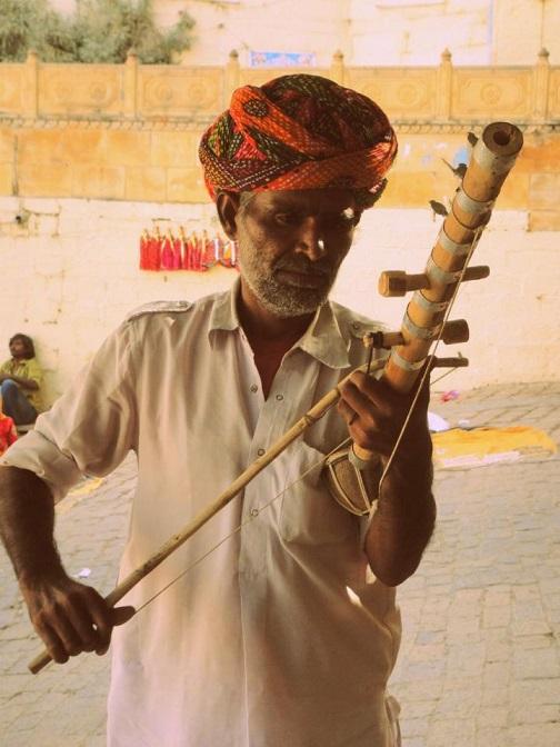 Sindhi Sarangi in Jaisalmer, Jaisalmer, Rajasthan