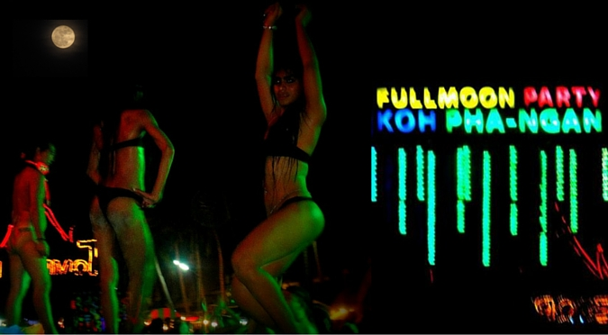 Full Moon Party of Koh Phangan: A Detailed Guide