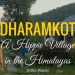 Dharamkot - a Hippie Village in the Himalayas (Himachal Pradesh), India