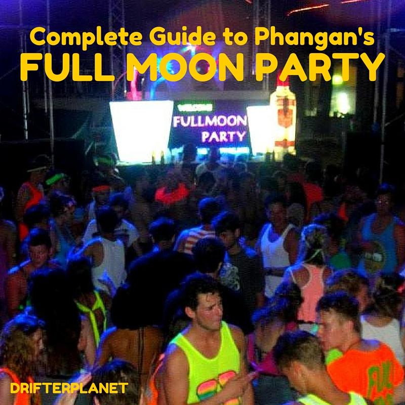 FULL MOON PARTY Phangan