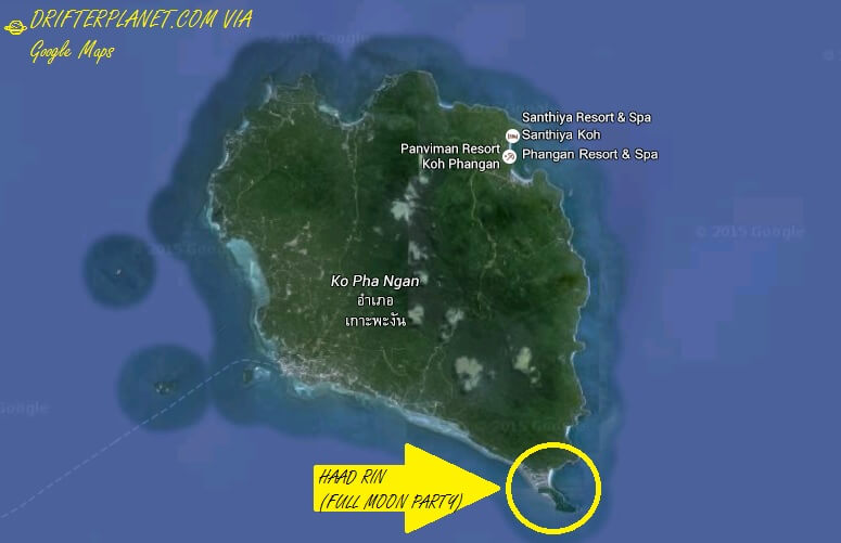 Full Moon Party Location
