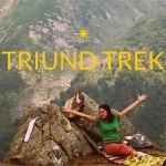 Trekking to Triund in Himachal Pradesh, India