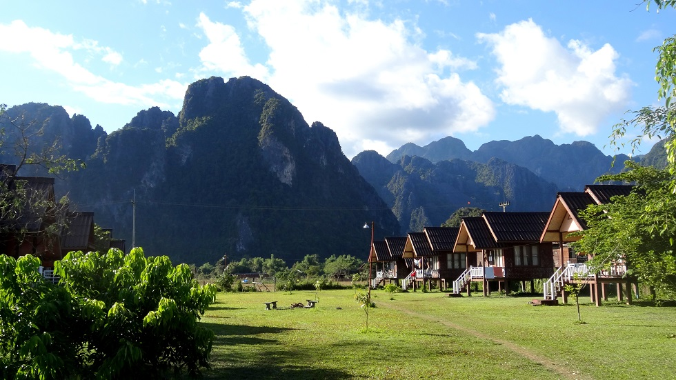 Banana Bunglow in Vang Vieng by Drifter Planet