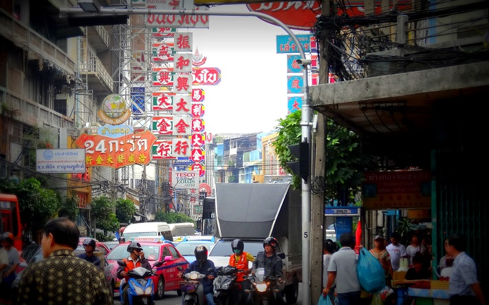 Chinatown in Bangkok by DrifterPlanet.com