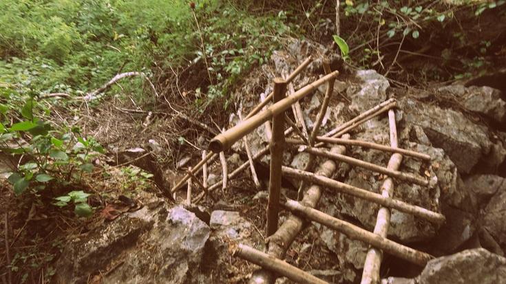 Climbing in Vang Vieng, Laos