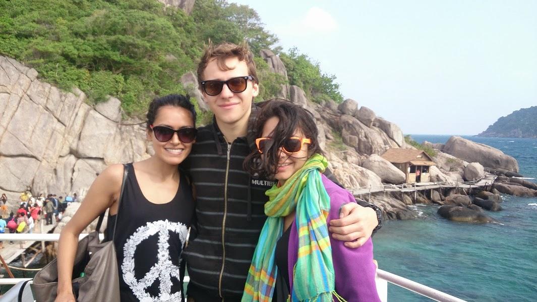 Rosh, Dan and I