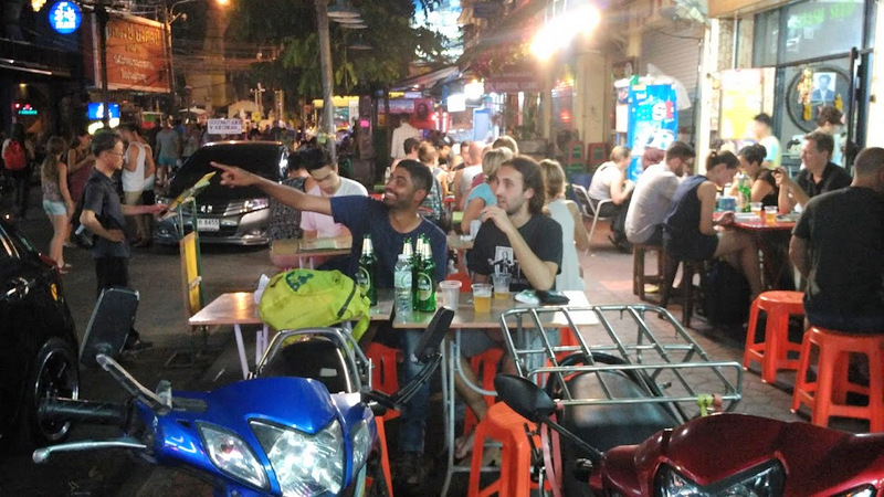 Khao San Road – Nightlife in Bangkok Itinerary