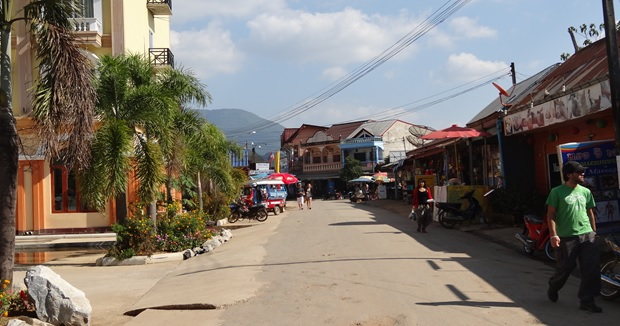 Vang Vieng main city by Drifter Planet