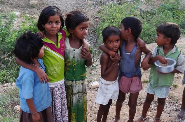 Cute Local Kids in Hampi