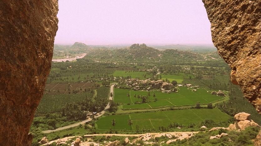 Stunning View from Anjaneya Hill, Hampi by Drifter Planet