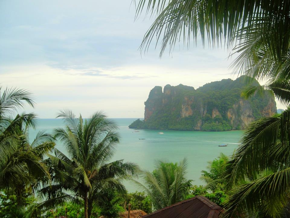 The View from Railay Garden View Resort in Railay East by Drifter Planet