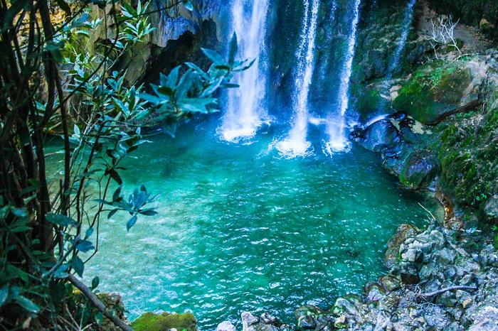 Akchour Waterfalls near Chefchaouen (Morocco)