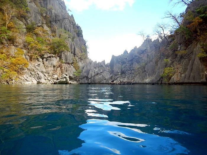 Barracuda Lake in Coron, Palawan (Philippines)
