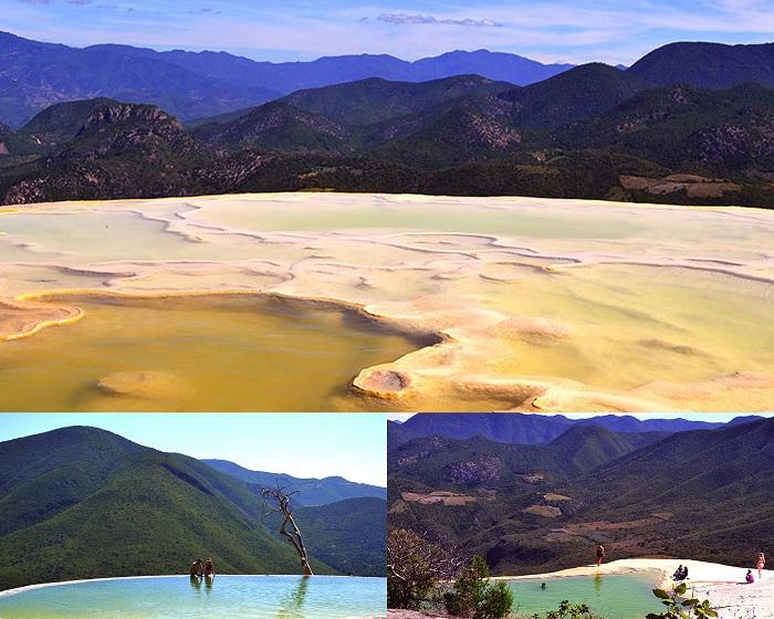 Hierve el Agua near Oaxaca (Mexico)
