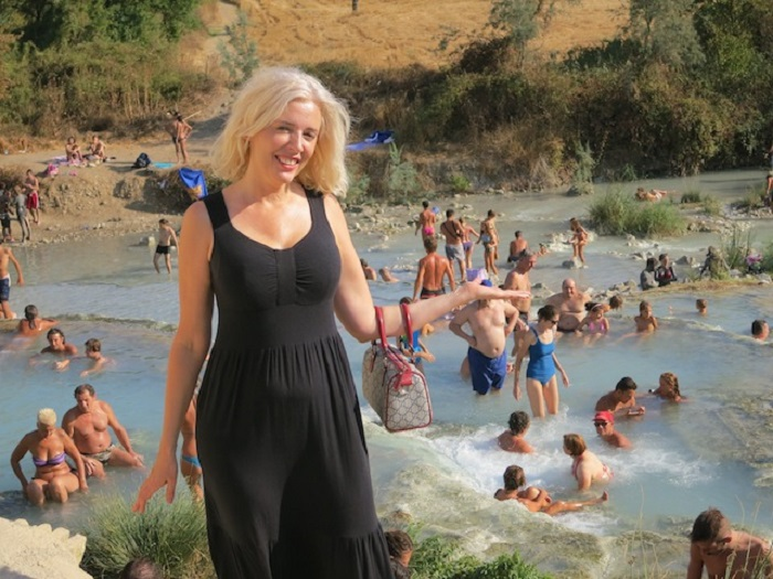 Hot Springs in Saturnia in Tuscany (Italy)