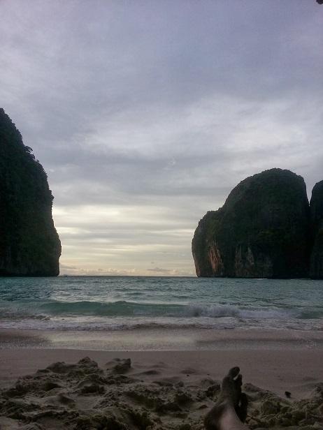 Maya Bay Sunset - Just like the Beach Movie