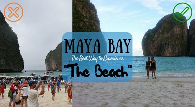 "Maya Bay, Phi Phi Islands, Thailand: Secret Way to Experience ""The Beach"""