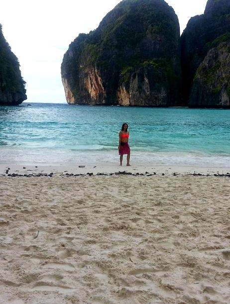 Empty Maya Beach Phi Phi Islands