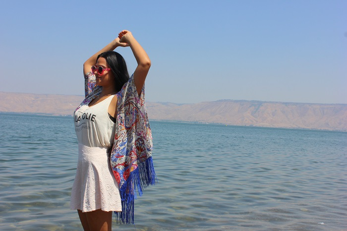 The Sea of Galilee, a.k.a. Kinneret (Isreal)