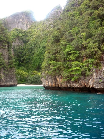 On our way to Maya Bay Beach Phi Phi Islands, Thailand