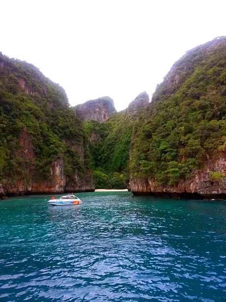 The Way to Maya Bay Phi Phi Islands - The Beach Movie