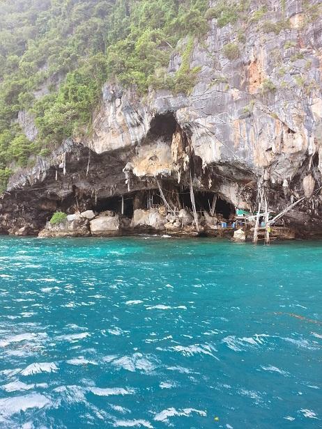 Viking Cave Maya Bay Phi Phi Islands Thailand