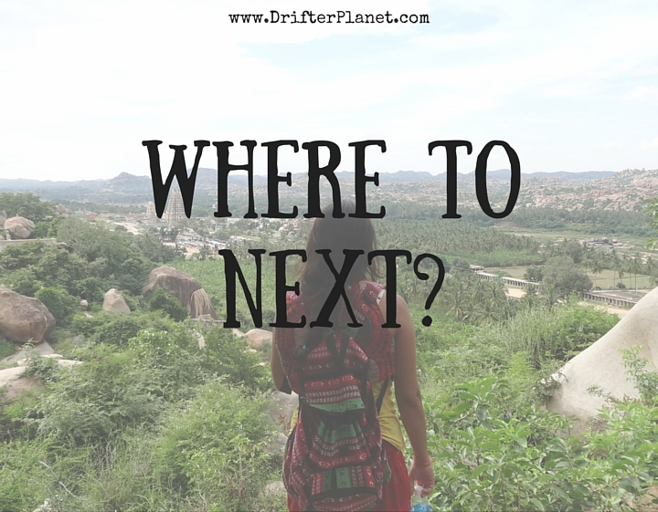 Where to next? By DrifterPlanet.com