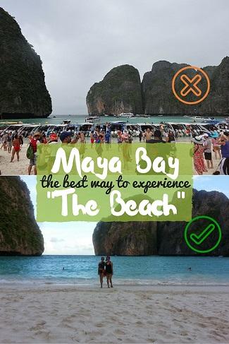 Maya Bay Thailand - Koh Phi Phi - The Beach Movie Experience