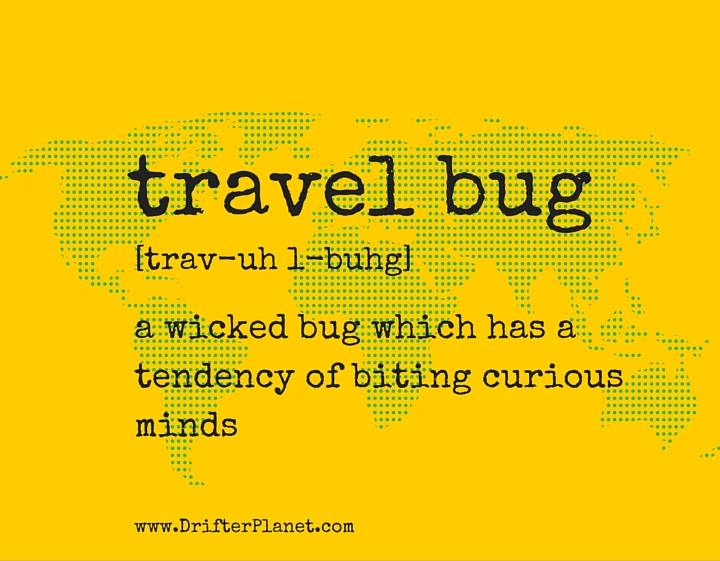 travel bug by DrifterPlanet.com