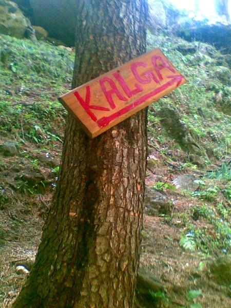 The way to Kalga