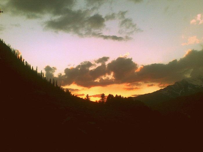 Kheerganga Sunset