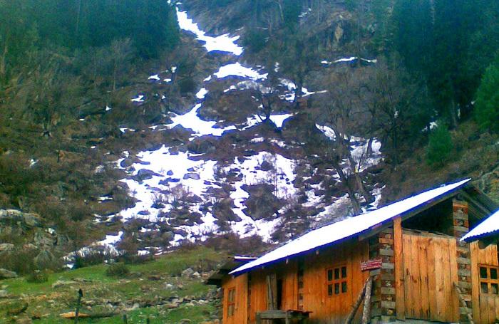Our Hut in Kheerganga