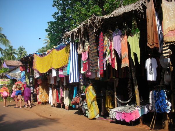 Arambol's Shopping Street