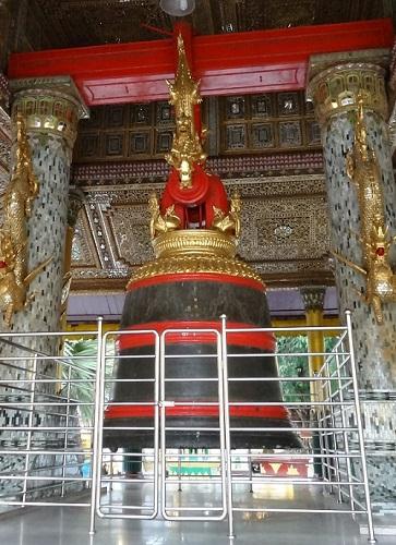 Bell Inside Shwedagon Pagoda
