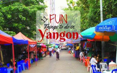 11 Fun Things to Do in Yangon, Myanmar (in 2019)