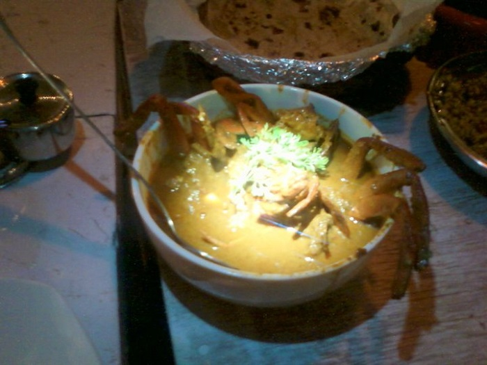 Goan Food - Crab Curry