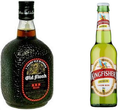 Old Monk in Winters and Kingfisher in Summers - Why life in India is awesome by DrifterPlanet.com