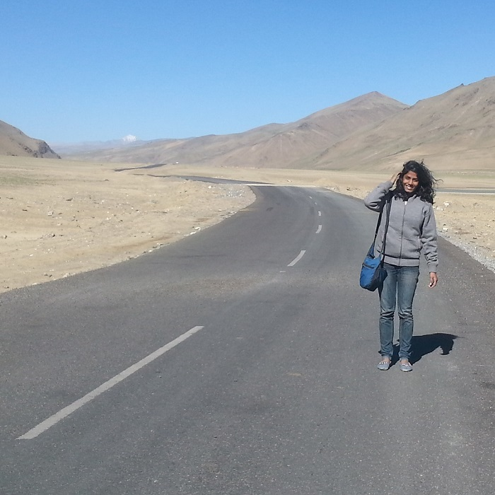 Sahithi Pulivarthi - 11 Indian Girls Who Travel Solo