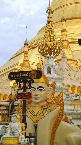 Shwedagon Pagoda complex - things to do in Yangon