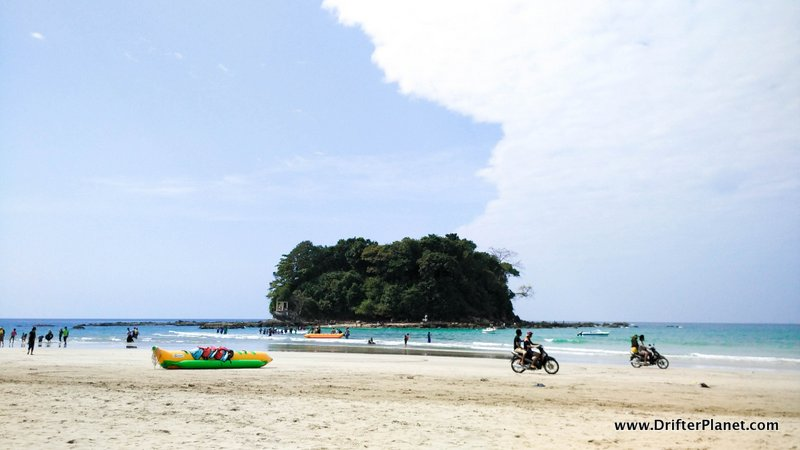 Lovers Island Ngwe Saung Beach