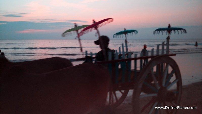 Ngwe Saung Beach Sunset and Market