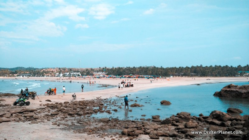 Sandbar at Ngwe Saung Beach, Myanmar