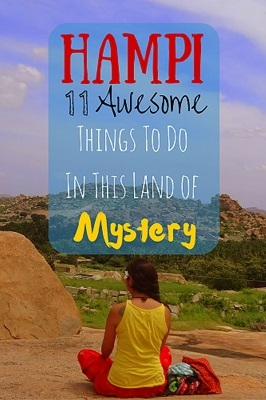 11 Awesome Things to do in Hampi