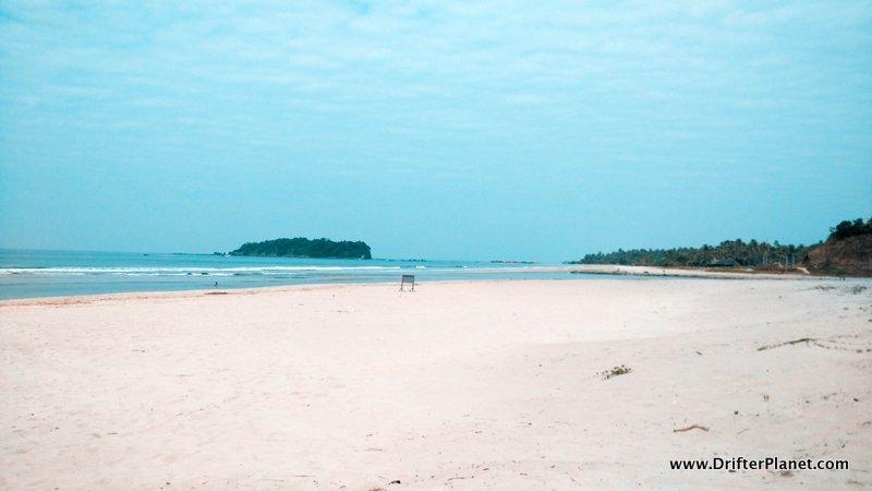 White sand Ngwe Saung Beach, Myanmar