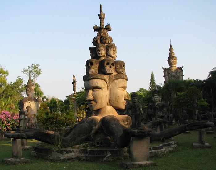 The Buddha Park, Vientiane, Laos - 50 Surreal Travel Destinations