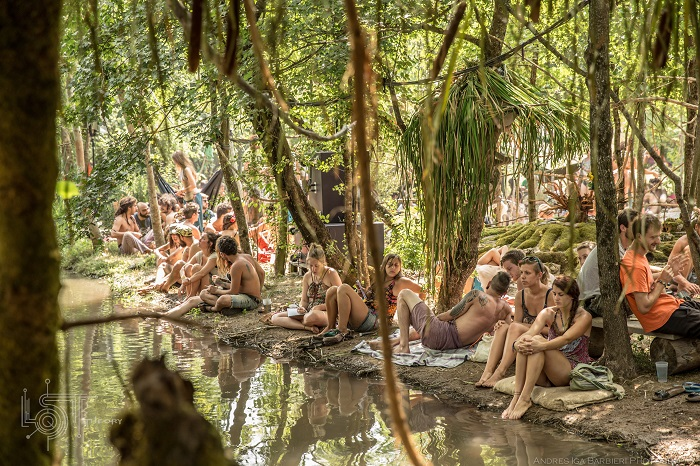 Lost Theory Festival River Side Chill Area (2015)