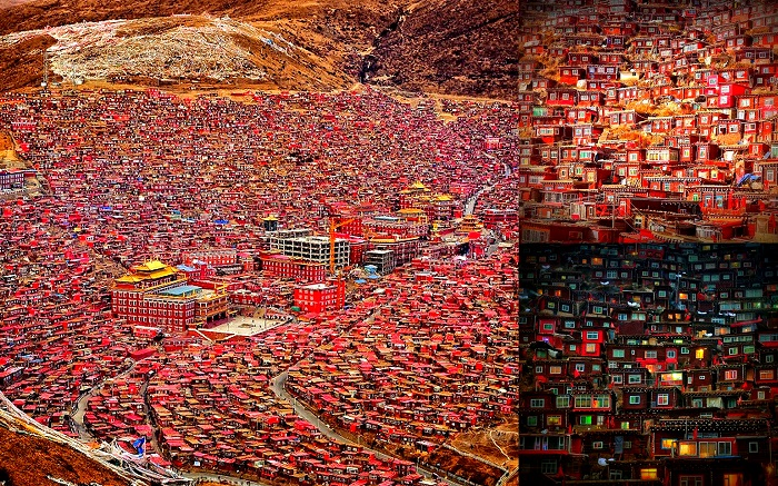 Larung Gar, China - 50 Surreal Travel Destinations